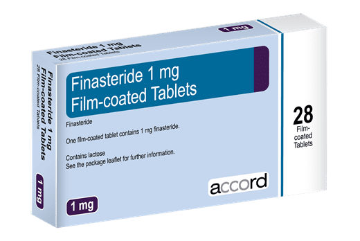 Finasteride is a medication that is able to slow, stop and in some cases reverse hair loss within men