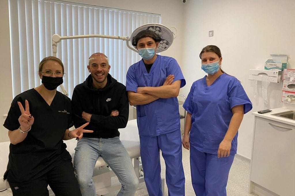 Aftercare following a hair transplant procedure is key to ensuring that your newly transplanted hairs can grow correctly