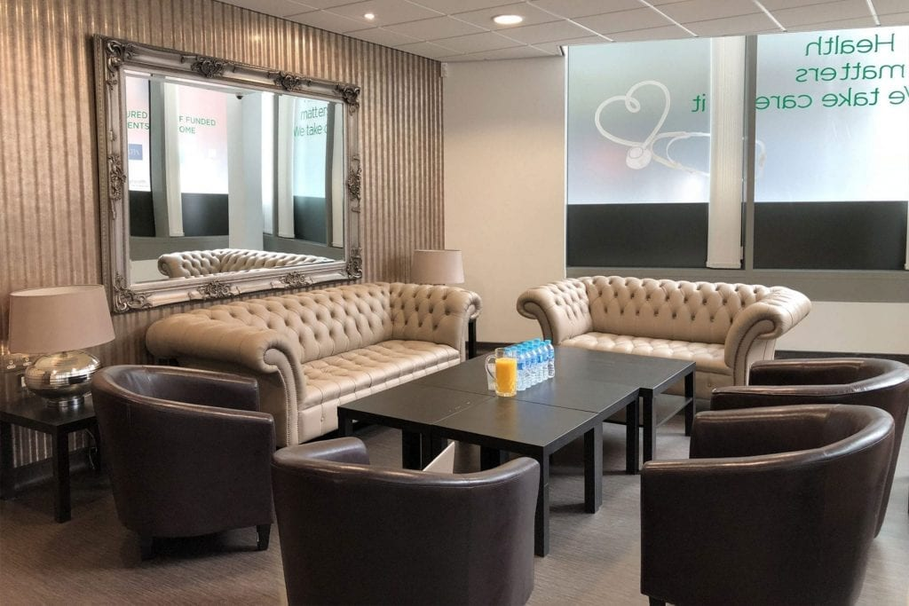 We've created a comfortable and homely environment for all patients who step through our doors to make them feel at home before their surgery